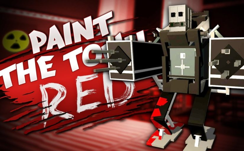 GIANT MECH AND STEALTH LEVEL – Best User Made Levels – Paint the Town Red